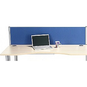 Alpha Plus Executive Rectangular Desk Screens £131 - Office Screens