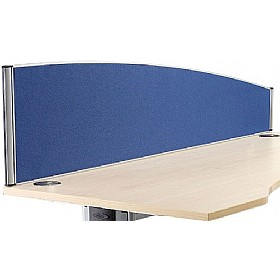 Alpha Plus Executive Curved Desk Screens £152 - Office Screens