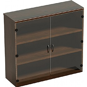Corniche Glazed Bookcases £1163 - Office Desks