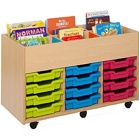 Bubblegum Kinderbox With 12 Shallow Trays £0 - Education Furniture