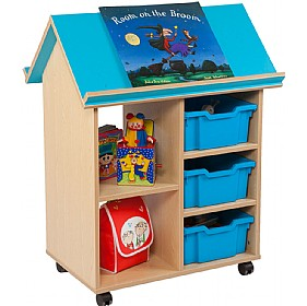 Bubblegum Book House With Trays £0 - Education Furniture