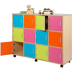 Bubblegum Lockers £0 - Education Furniture