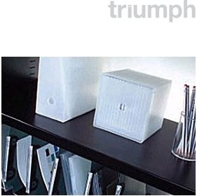 Triumph Lateral Filing Shelf for Everyday Stationery & Double Door Cupboard £14 - Office Desks