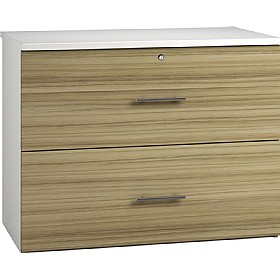 Reflections Light Olive Side Filing Cabinets £316 - Office Storage