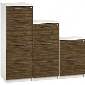 Reflections Dark Olive Filing Cabinets £198 - Office Storage