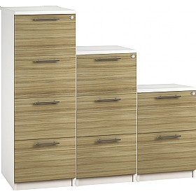 Reflections Light Olive Filing Cabinets £198 - Office Storage