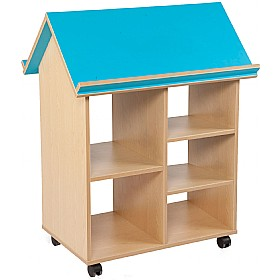 Bubblegum Book House Without Trays £0 - Education Furniture