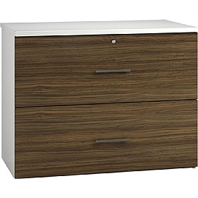 Reflections Dark Olive Side Filing Cabinets £316 - Office Storage