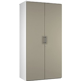 Reflections Stone Grey Double Door Cupboards £235 - Office Storage