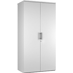 Reflections White Double Door Cupboards £235 - Office Storage