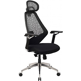 Oasis Mesh Executive Chair £254 - Office Chairs