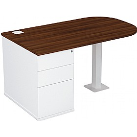 Presence D-End Combination Desks £323 - Office Desks