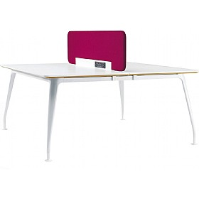 DNA Double Rectangular Bench Desk £991 - Office Desks