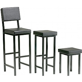 Scholar Upholstered Square Stools £55 - Education Furniture