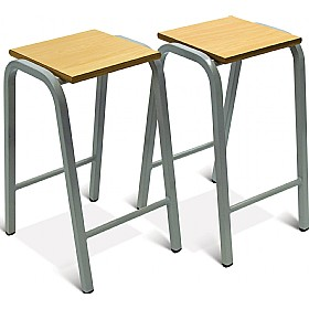 Scholar Heavy Duty Wooden Top Stools £0 - Education Furniture
