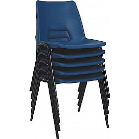NEXT DAY Polypropylene Canteen Chairs £20 -