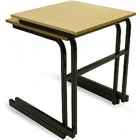 Scholar Heavy Duty Cantilever Stacking Exam Desks £35 - Education Furniture