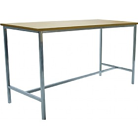 Scholar H-Frame Lab Tables - 600mm Deep £95 - Education Furniture