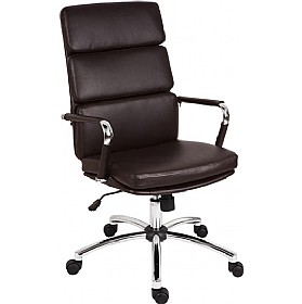 Deco Executive Chair Brown £139 - Office Chairs