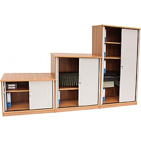 Modus Universal Storage Tambour Door Cupboard £370 - Office Desks