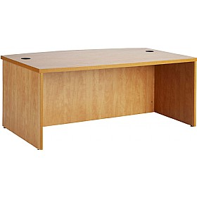 Consulate Bow Front Executive Desk £266 - Office Desks