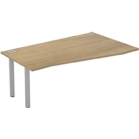 Interface Wave Extension Bench Desks £219 - Office Desks