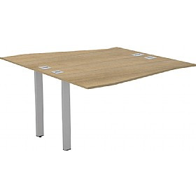 Interface Back To Back Extension Wave Bench Desks £463 - Office Desks