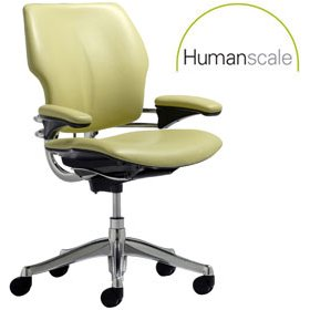 Humanscale Freedom Leather Task Chair £534 - Office Chairs