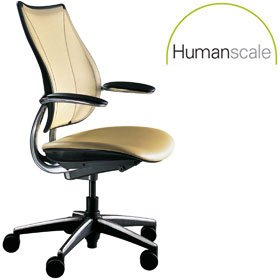 Humanscale Liberty Leather Conference Chair £452 - Office Chairs