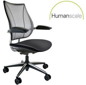 Humanscale Liberty Leather Task Chair £526 - Office Chairs