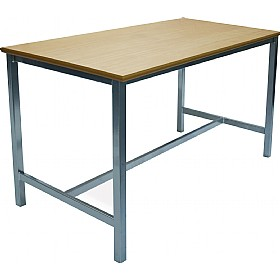 Scholar Heavy Duty H-Frame Lab Tables - 750mm Deep £0 - Education Furniture