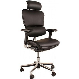 Ergohuman Leather Office Chairs (With Headrest) £577 - Office Chairs