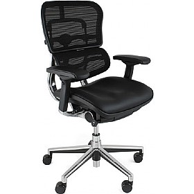 Ergohuman Mesh & Leather Office Chairs (Without Headrest) £509 - Office Chairs