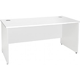 NEXT DAY Status Panel End Rectangular Desks £139 - Next Day Office Furniture