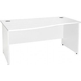 NEXT DAY Status Panel End Wave Desks £151 - Next Day Office Furniture