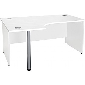 NEXT DAY Status Panel End Ergonomic Desks £183 - Next Day Office Furniture