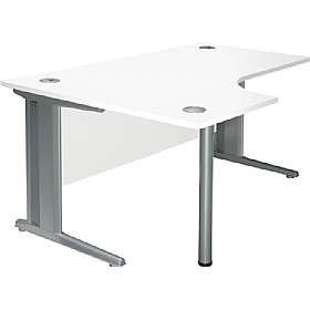 NEXT DAY Distinct Cantilever Ergonomic Desks £223 - Next Day Office Furniture