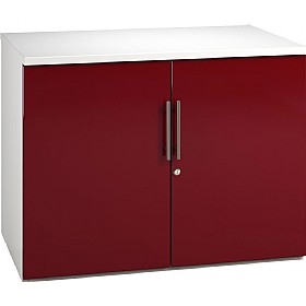 NEXT DAY Reflections Desk High Cupboards £148 - Office Cupboards