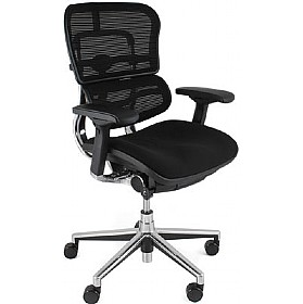 Ergohuman Mesh & Fabric Office Chairs (Without Headrest) £497 - Office Chairs