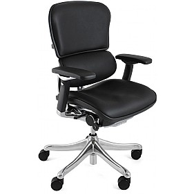 Ergohuman Plus Leather Office Chair (Without Headrest) £598 - Office Chairs