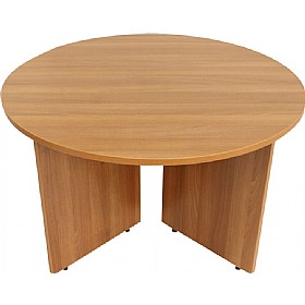 Accord Arrow Head Round Meeting Table £274 - Office Desks