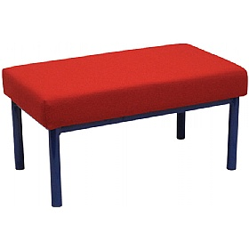 Scholar Children's Upholstered Two Seater Stool £0 - Education Furniture