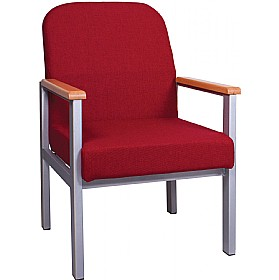 Traditional Extra Heavy Duty Low Reception Armchair £124 - Reception Furniture