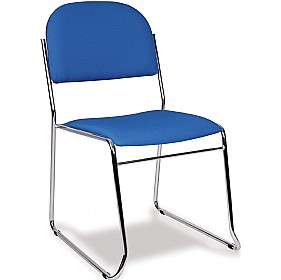 Vest Sled Skid Base Stacking Chair £67 - Office Chairs