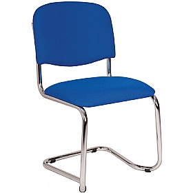 Chrome Cantilever Stacking Chairs £65 - Office Chairs