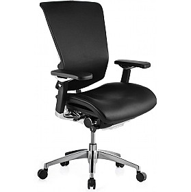 Nefil Ergonomic Leather Office Chair (Without Headrest) £593 - Office Chairs