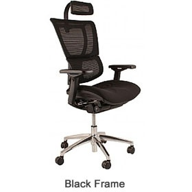 Mirus Ergonomic Mesh Office Chair (With Headrest) £441 - Office Chairs