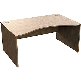 Sven X-Range Panel End Double Wave Desks £286 - Office Desks