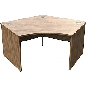 Sven X-Range Panel End 120° Cluster Desks £302 - Office Desks