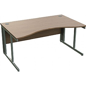 Sven X-Range Cantilever Double Wave Desks £286 - Office Desks
